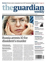 Guardian Weekly kansi