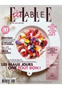 Elle A Table (French Edition) kansi 2018 8