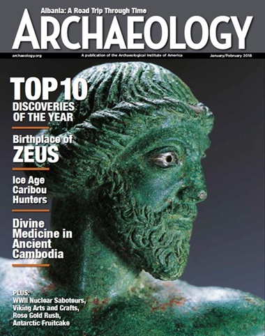 Archaeology Magazine kansi