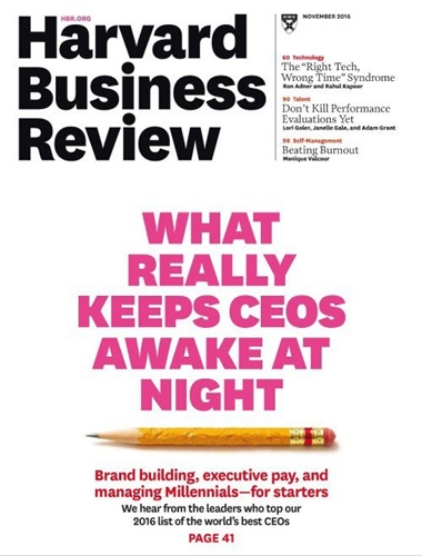 Harvard Business Review kansi