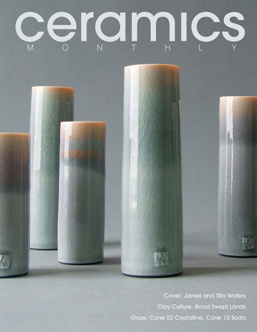 Ceramics Monthly kansi