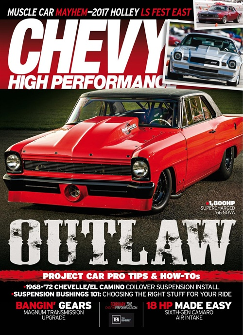 Chevy High Performance kansi