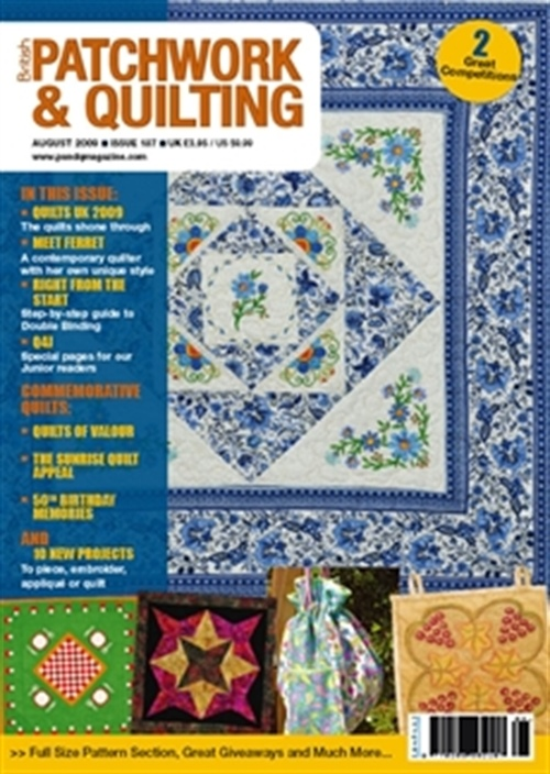 Patchwork And Quilting kansi