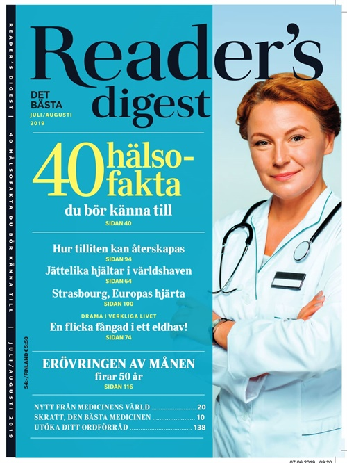 Readers Digest (ruotsi) kansi