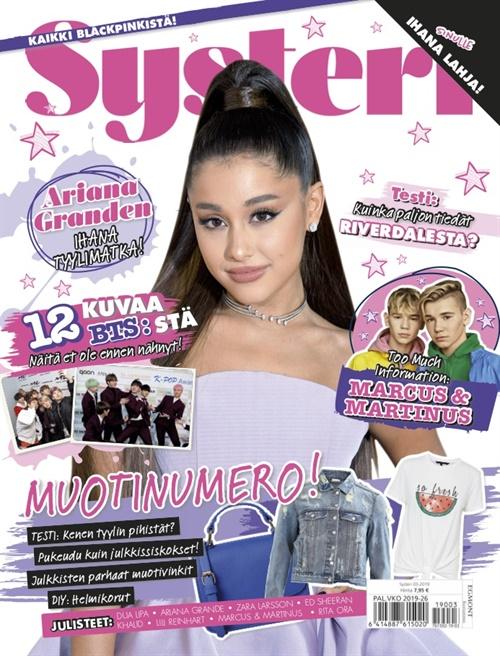 musta tyyli Magazine