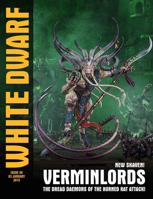 White Dwarf Monthly kansi
