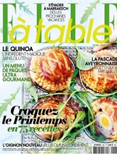 Elle A Table (French Edition) kansi