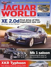 Jaguar World Monthly kansi