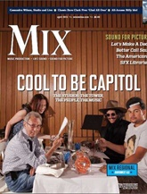 Mix Magazine/recording Industry Magazine kansi