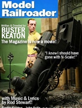 Model Railroader Magazine kansi