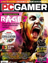 PC Gamer (ruotsi) kansi