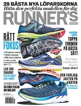 Runners World (ruotsi) kansi