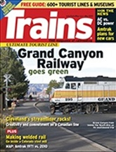 Trains Magazine kansi