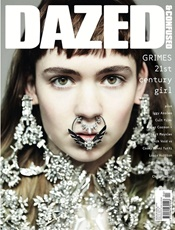 Dazed & Confused Magazine kansi
