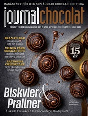Journal Chocolat (ruotsi) kansi