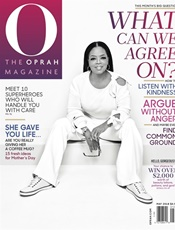 O, The Oprah Magazine kansi