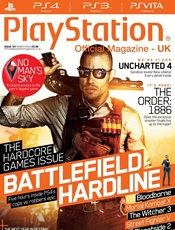 Playstation Official Magazine (UK Edition) kansi
