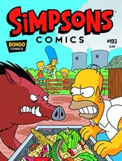 Simpsons The Comic Magazine kansi