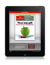 The Economist Digital only kansi
