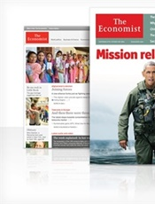 The Economist Print & Digital kansi
