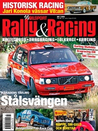 Bilsport Rally&Racing (ruotsi) kansi