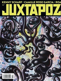 Juxtapoz Art & Culture Magazine kansi
