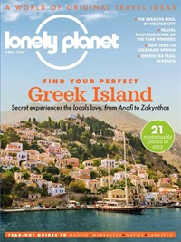 Lonely Planet Traveller kansi
