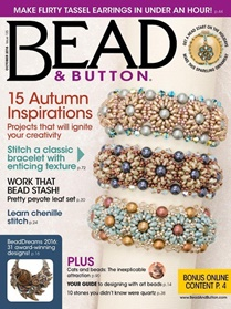 Bead & Button kansi
