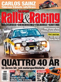 Bilsport Rally&Racing kansi