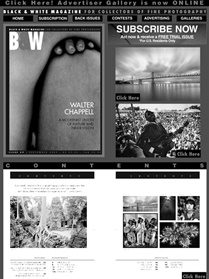 Black & White Magazine kansi