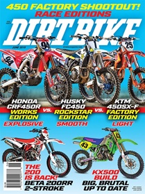 Dirt Bike Magazine kansi