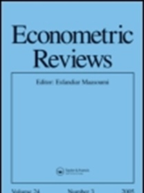 Econometric Reviews kansi