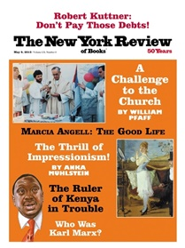 New York Review Of Books kansi