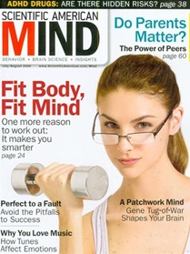 Scientific American Mind kansi