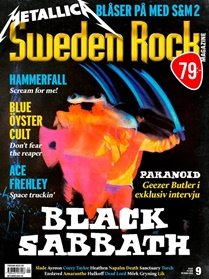 Sweden Rock Magazine kansi