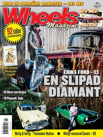 Wheels Magazine kansi